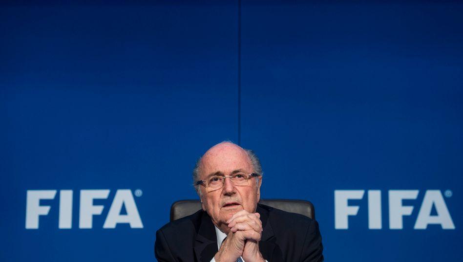 Sepp Blatter: Die letzten Tage seiner Amtszeitlaufen - und die Offenheit der Schweizers wächst