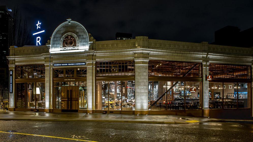 "Kaffeehauskette: Starbucks neue ""Roastery"" in Seattle"