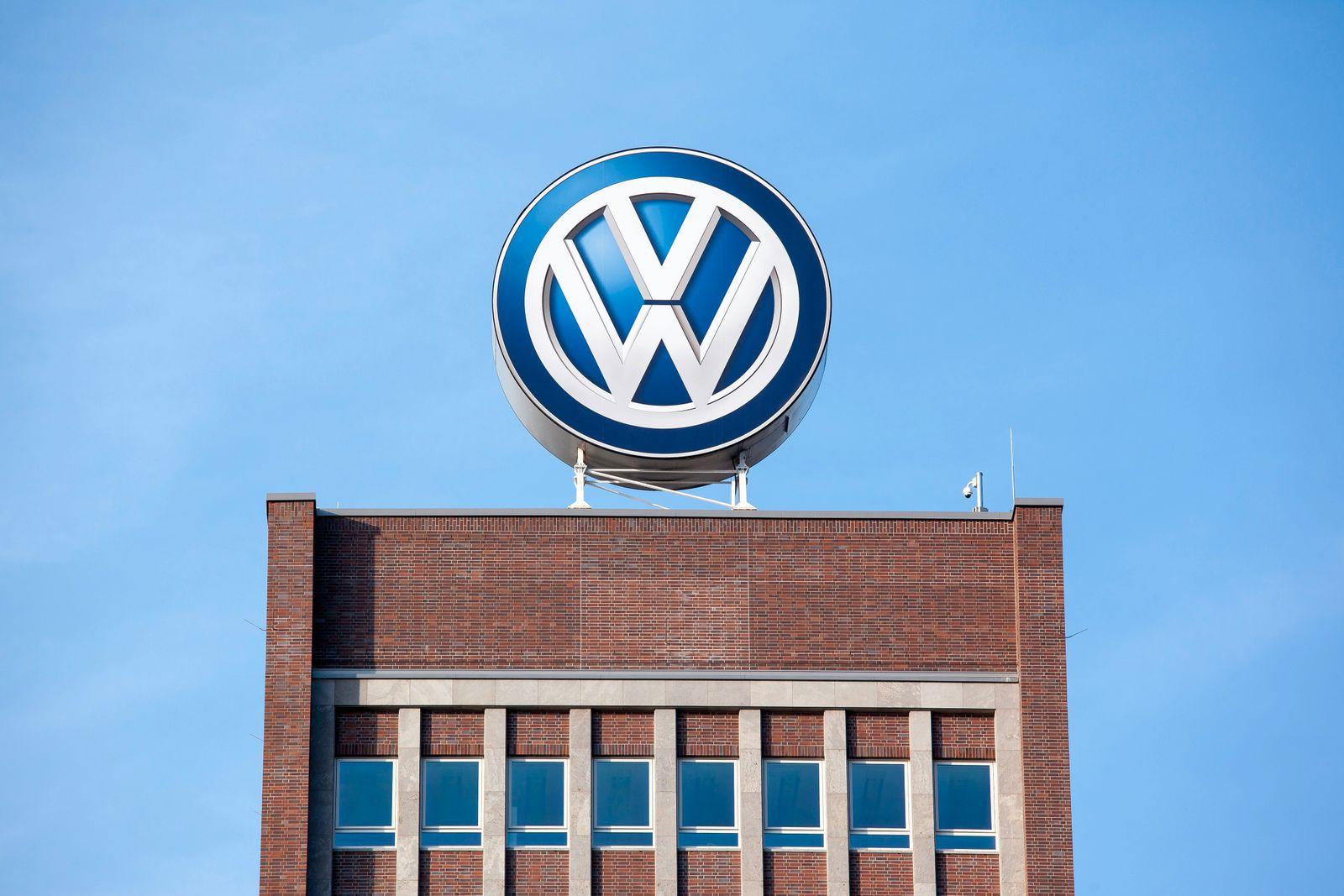 VW / Wolfsburg / ACHTUNG!!! DAS NEUE LOGO VON VW