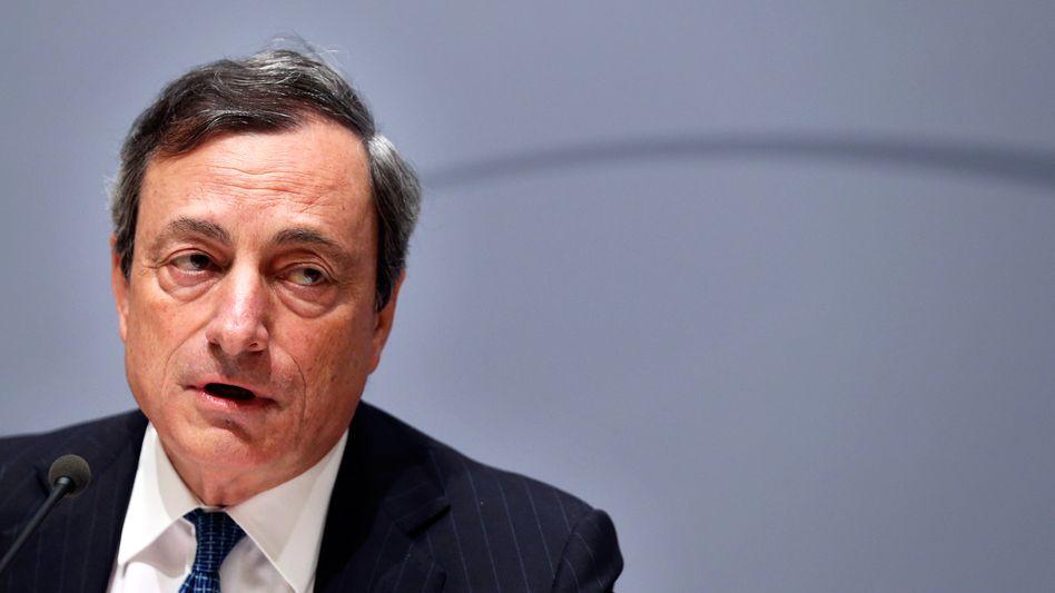 Draghi: Der EZB-Chef könnte auch zu unkonventionellen Mitteln greifen
