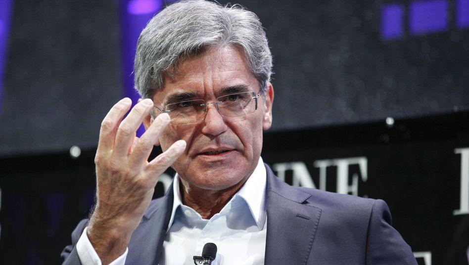 Siemens-Chef Joe Kaeser: Einsparungen sollen bis zu zwei Prozentpunkte mehr Marge bringen