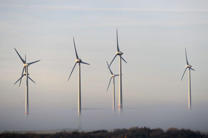 Flaute: Der Wind weht in Deutschland schwächer als erwartet