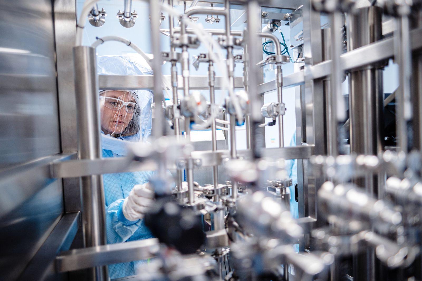 Biontech startet Impfstoffproduktion in Marburg