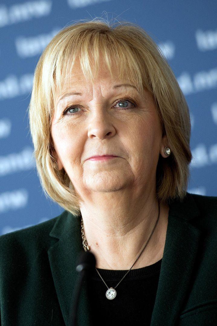 Die nordrhein-westfälische Ministerpräsidentin Hannelore Kraft