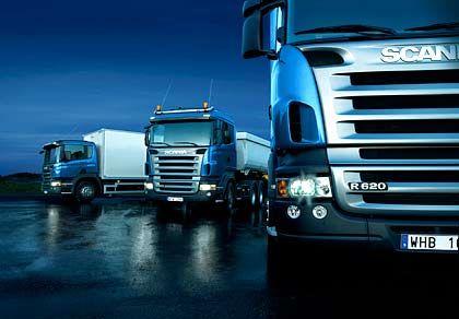 Kraftvoller Auftritt: Im vierten Quartal hat Scania allerdings deutlich Federn lassen müssen.