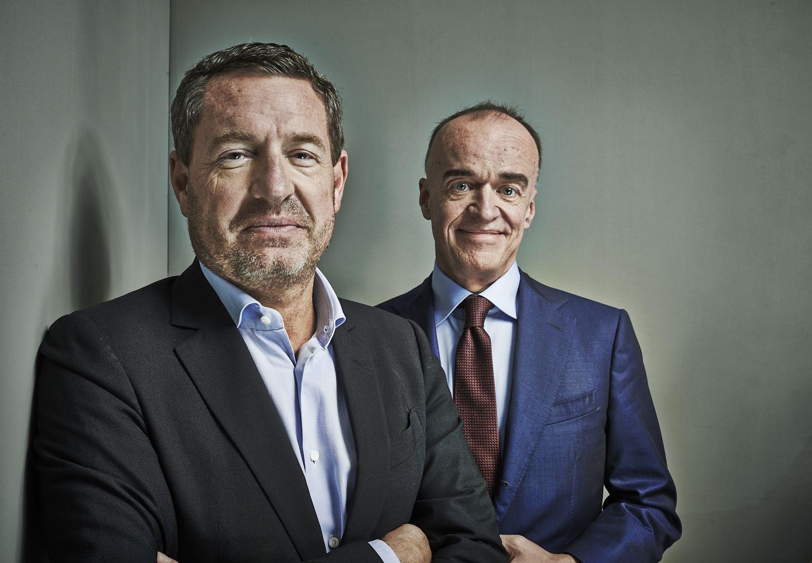 EINMALIGE VERWENDUNG Leonhard Fischer / Kai Diekmann