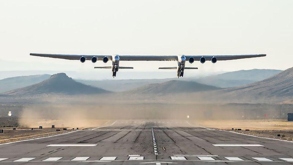 Stratolaunch: Das ist das größte Flugzeug der Welt