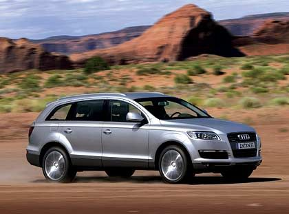 Über fünf Meter lang: Audi Q7
