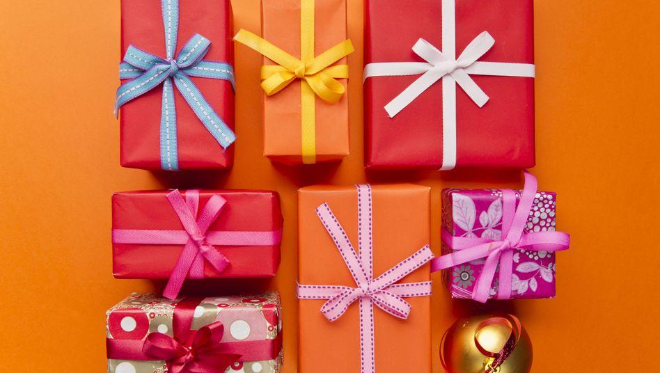 Geschenke: Es zählt, was in den Paketen verpackt ist