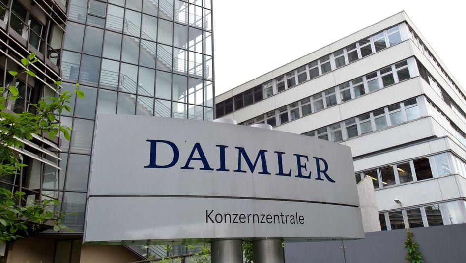 Daimler-Konzernzentrale: Neue Vertriebsstruktur geplant