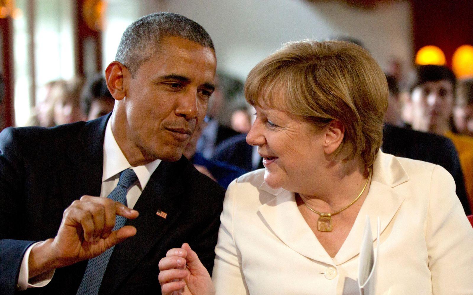 Barack Obama/ Angela Merkel