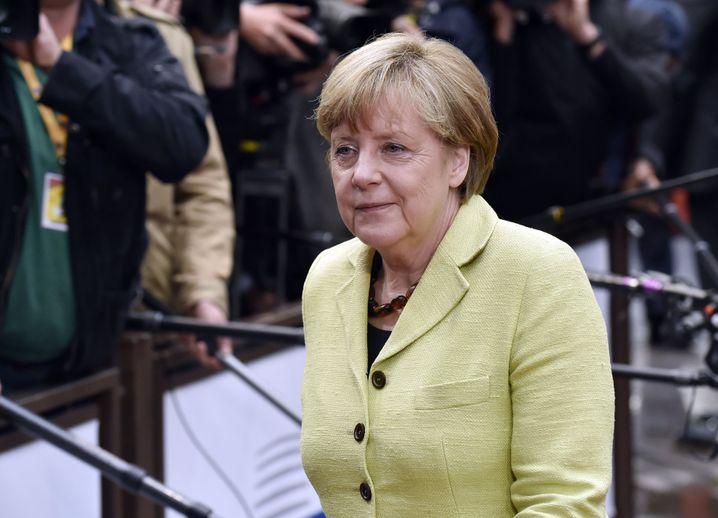 """Bundeskanzlerin Merkel: """"Setzen darauf, dass eine Einigung erreicht werden kann"""""""