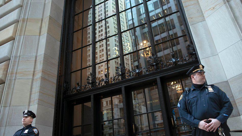 US-Zentralbankfiliale in New York: Offenbar Anschlag auf das Gebäude geplant