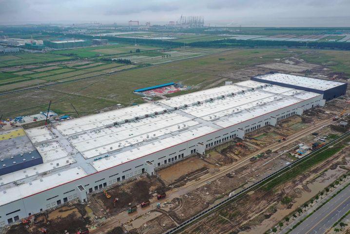 Tesla-Fabrik in Shanghai: Vorbild für Brandenburg