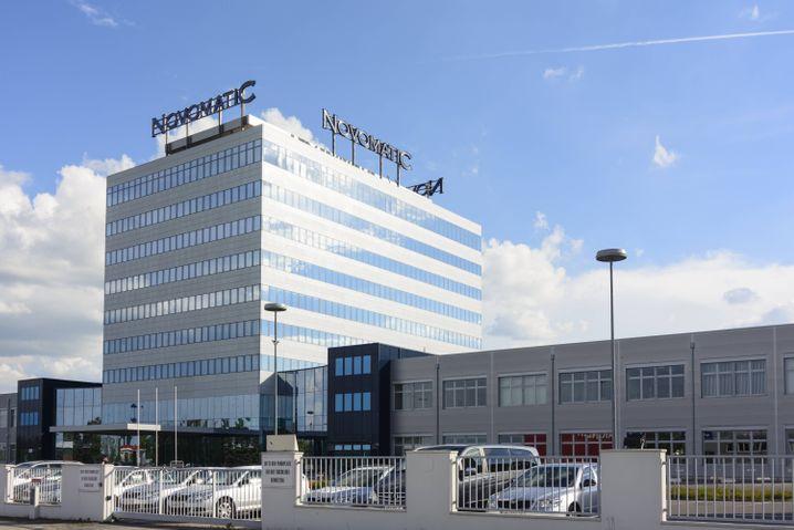 Zentrale des Glücksspiel-Konzerns Novomatic
