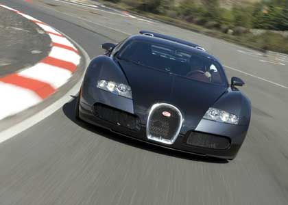 Piëchs Liebling: Der Bugatti Veyron - 1001 PS, 400 Stundenkilometer, 24 Liter Benzin auf 100 Kilometer,571 Gramm CO2 je Kilometer