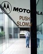 Bunte Bilder, breites Band: Motorola will bei UMTS-Handys ganz vorn mitmischen