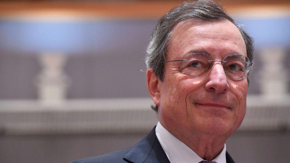 Mario Draghi: Der EZB-Chef gibt im Oktober 2019 nach acht Jahren im Amt seinen Posten ab. Ob die Europäische Zentralbank bis dahin die Zinswende schafft, ist ungewiss