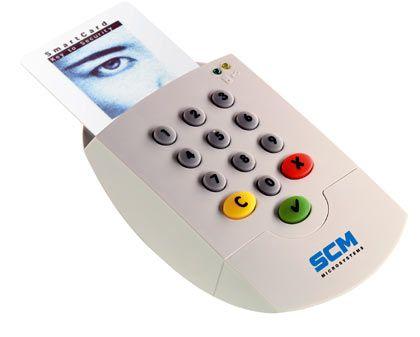 """Kartenlesegerät mit Smarcard: """"Der Schlüssel wird fest im Kartenleser gespeichert und verlässt diesen nicht mehr"""""""