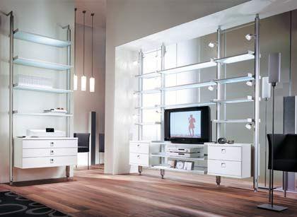 Schrankwand ade: Die neuen Multimedia-Möbel bestechen mit transparenter Eleganz