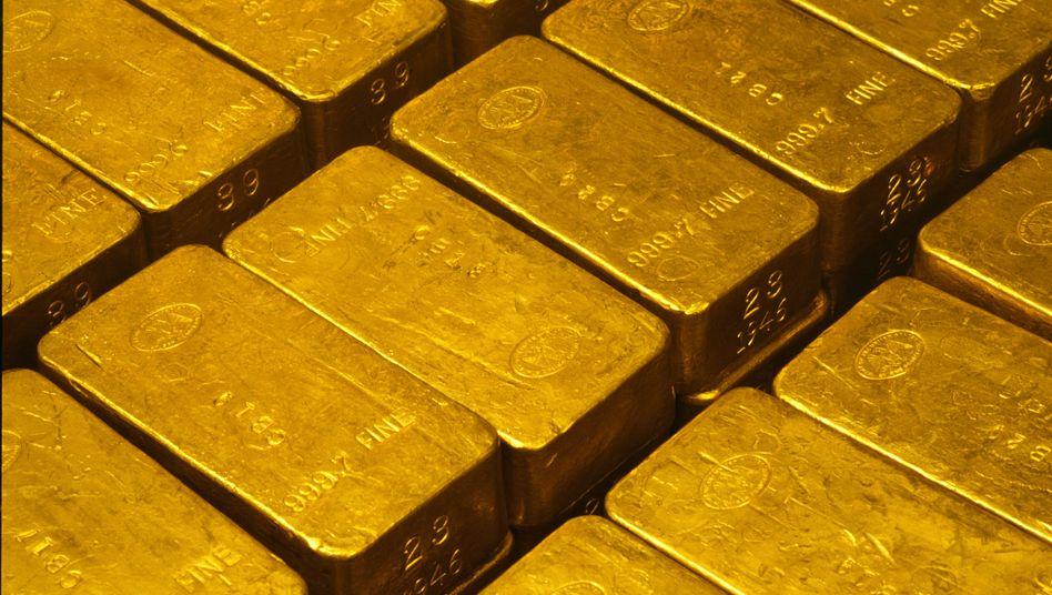 Goldbarren: Bald in Großstädten zu kaufen