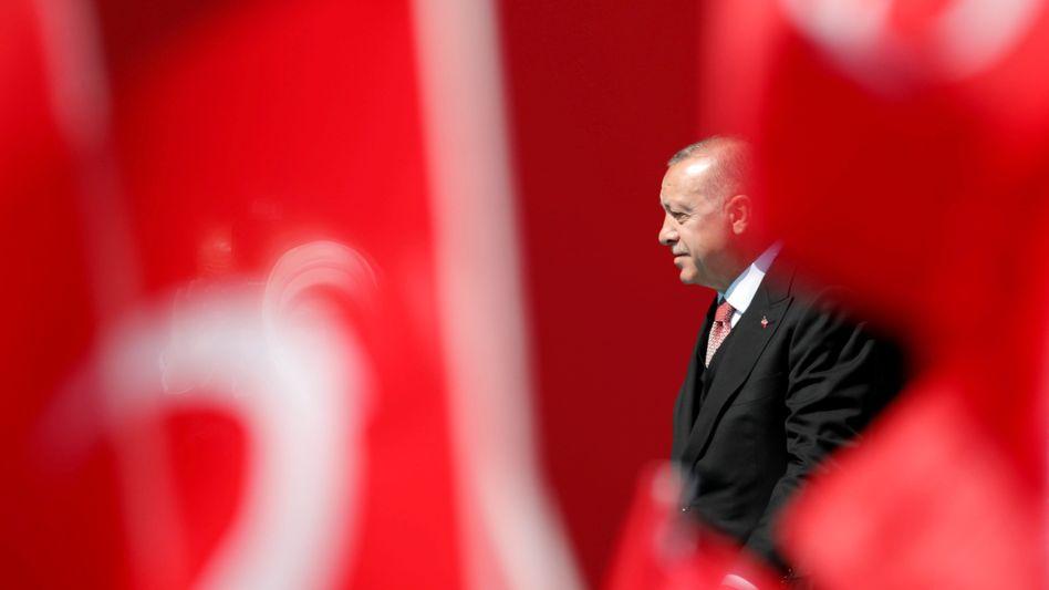 "Recep Tayyip Erdogan: ""Die Türkei muss den Spekulanten an den Märkten Disziplin beibringen"""