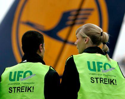 Ziel erreicht: Die Gewerkschaft UFO hat sich mit der Lufthansa über einen Tarifvertrag geeinigt