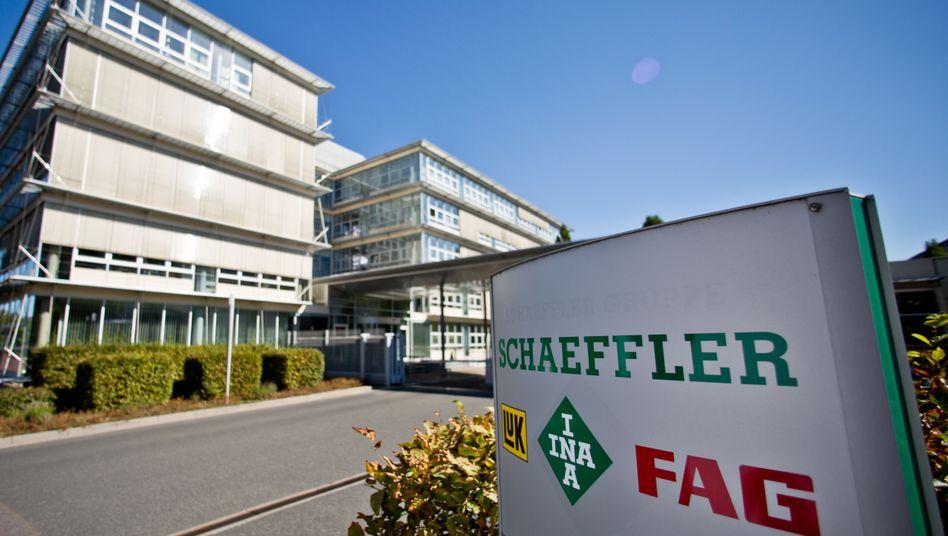 Schaeffler-Zentrale in Herzogenaurach (Bayern): Die Krise in der Automobilindustrie macht dem Autozulieferer schwer zu schaffen
