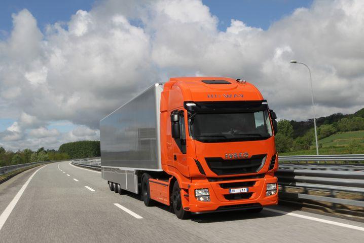 Lastwagen von Iveco: Verschiedene Hersteller experimentieren mit Flüssiggas