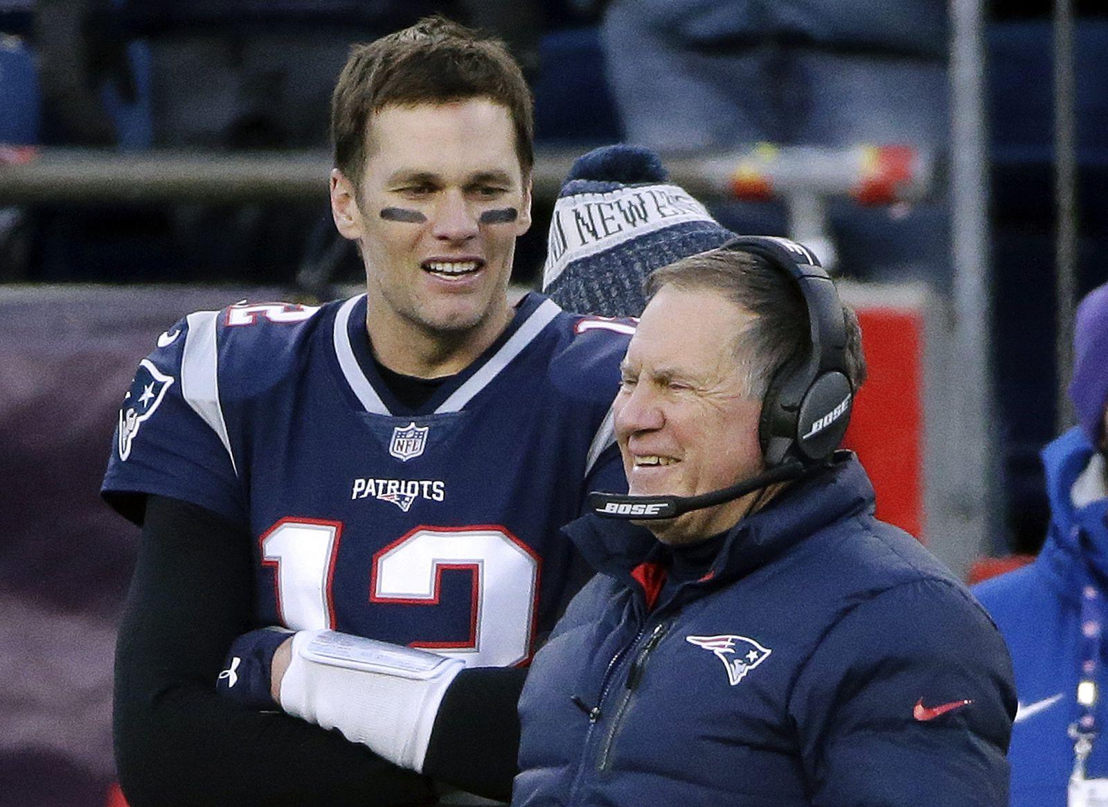 Tom Brady und Bill Belichick