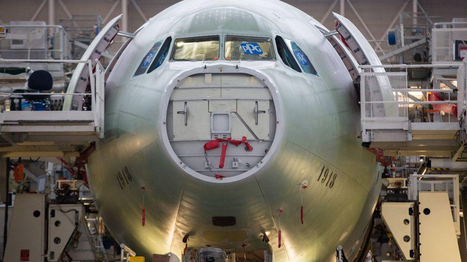 Flugzeugbau in Frankreich: Airbus gehört ab September so gut wie sicher dem Dax an