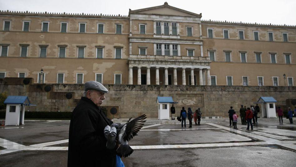"""Parlament in Athen: """"Ungerecht und nicht hinnehmbar"""""""