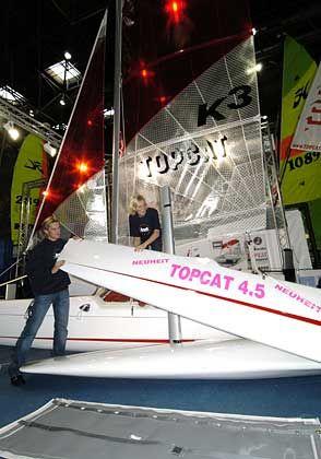 Sportlich: Der Topcat 4.5 kostet 7500 Euro