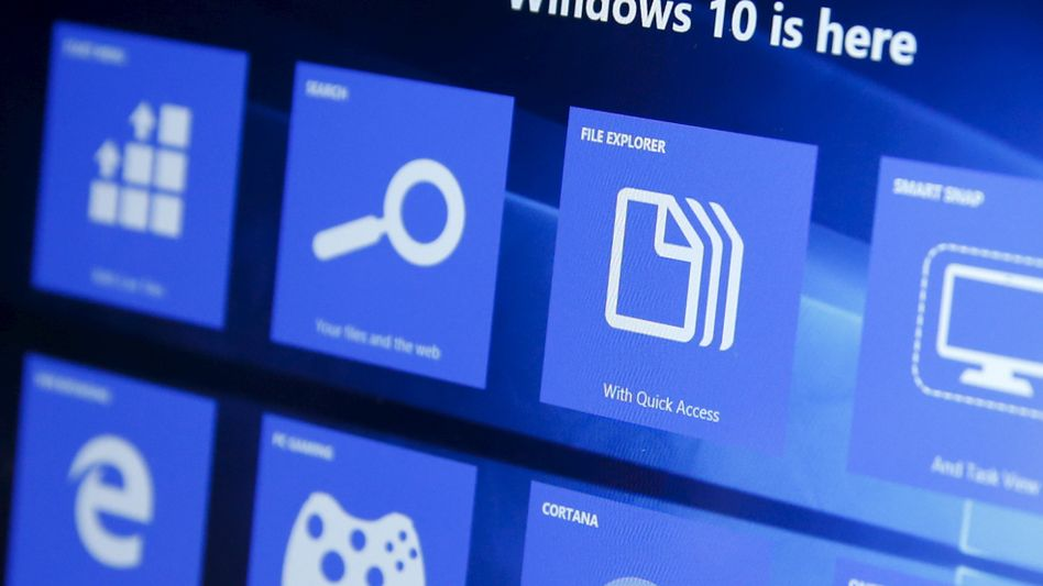 Windows-Hersteller Microsoft war an der New Yorker Börse mit 819 Milliarden Dollar mehr wert als Apple mit 808 Milliarden Dollar