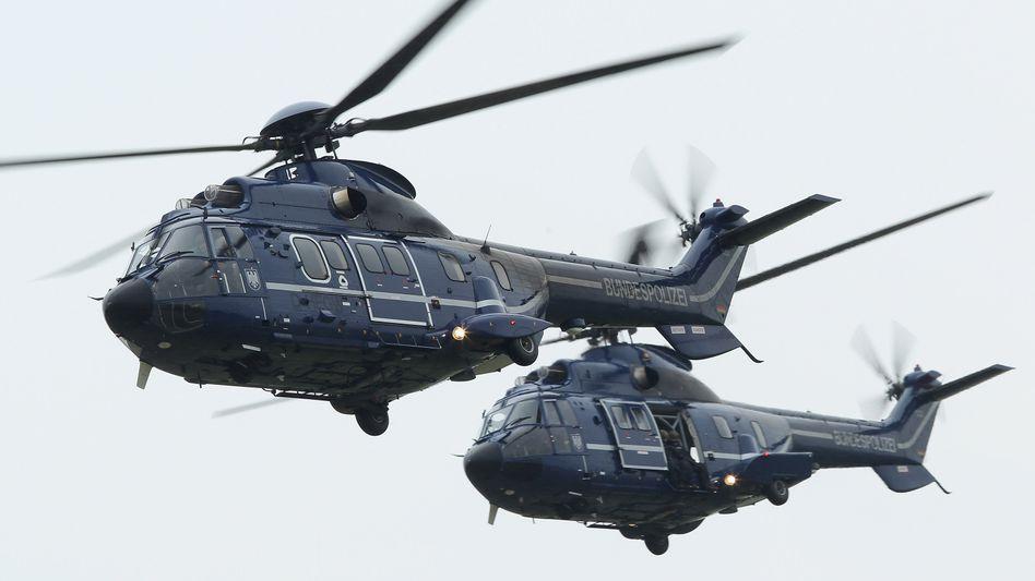"""""""Super Puma"""" der Bundespolizei: Die Ölindustrie ist auf Helikopter angewiesen"""