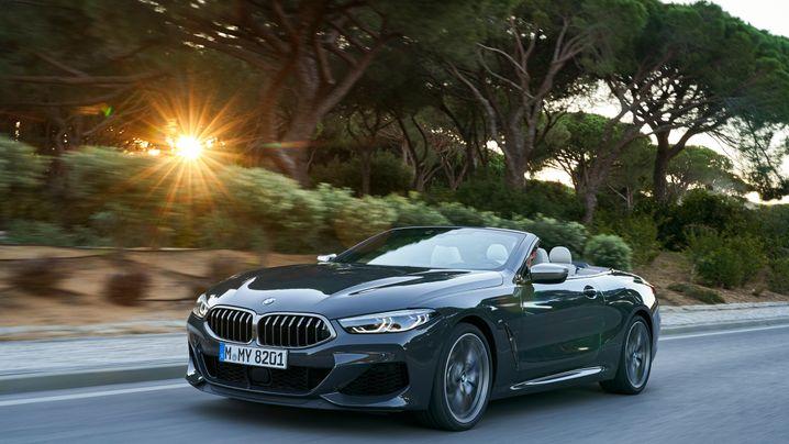 BMW M850i: Wuchtig im Wind