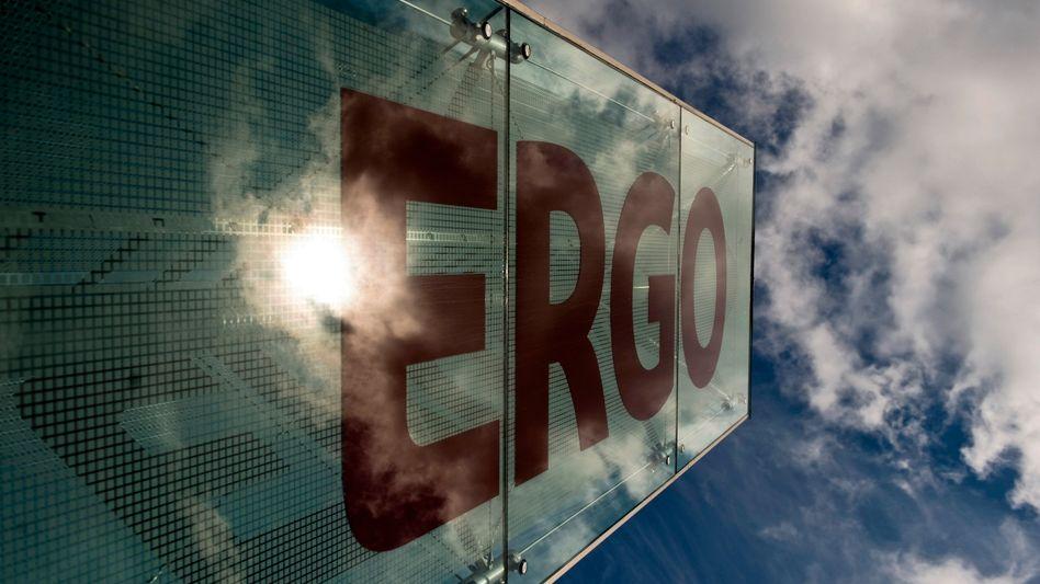 Logo der Munich-Re-Tochter Ergo: Der Konzern kommt nicht zur Ruhe