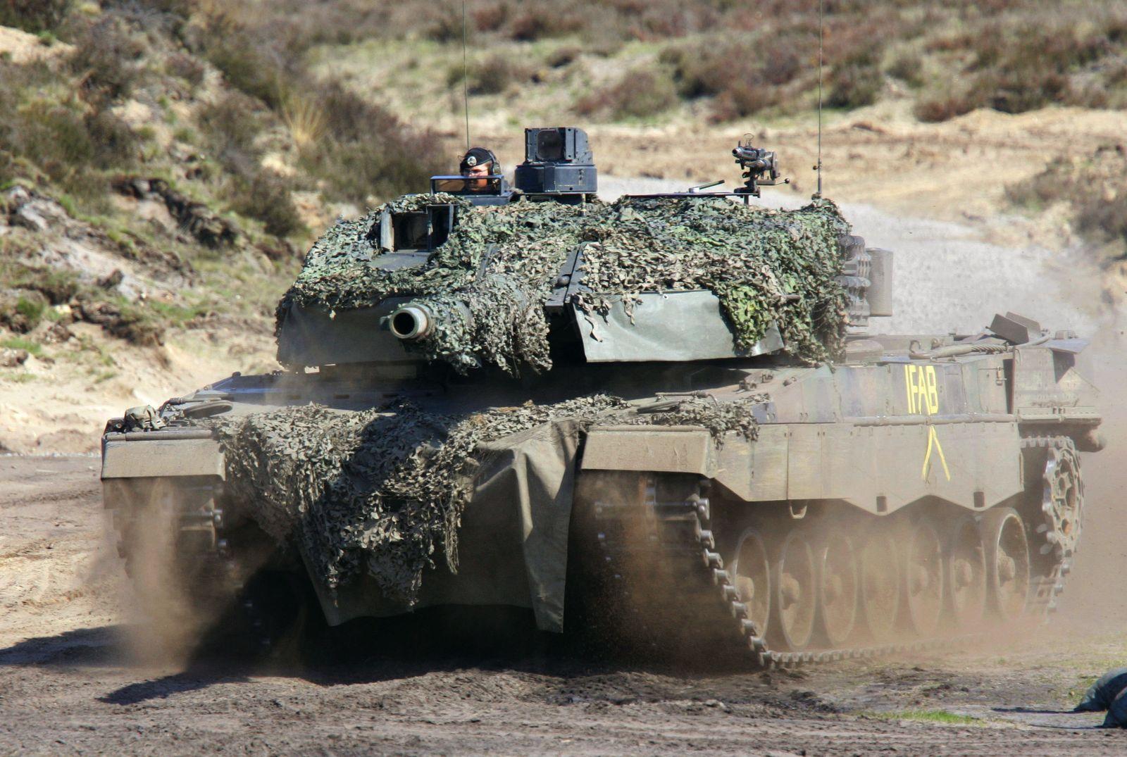 LEO 2 Deutschland liefert 298 Leopard-Kampfpanzer an die Türkei
