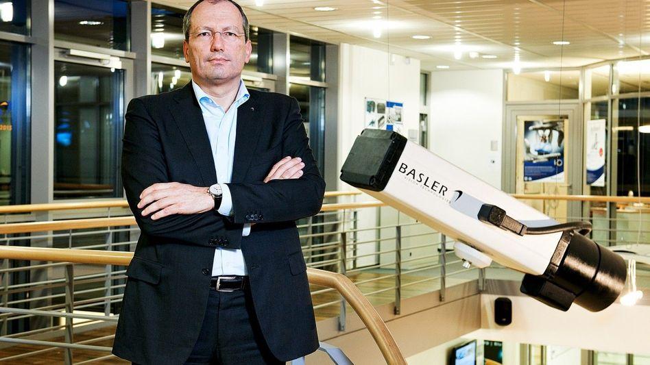 FOKUSSIERT Kamerafabrikant Norbert Basler