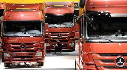 Nachfrageeinbruch: Schwieriges Jahr für schwere Lkw