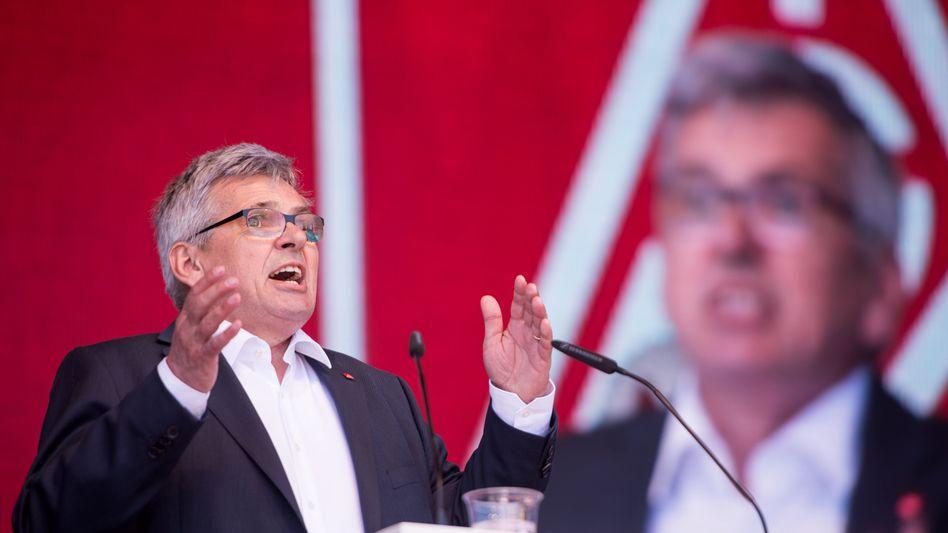 IG Metall-Chef Jörg Hofmann