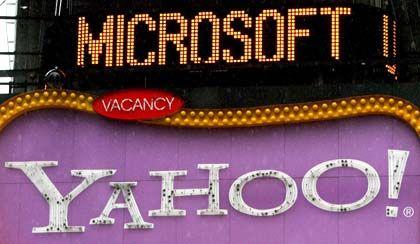 """""""Unaufgeforderte Offerte"""": Microsoft und Yahoo bald vereint gegen Google?"""