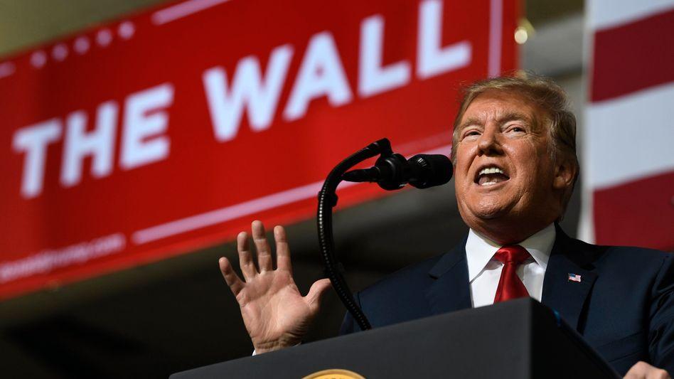 """""""Ich will das nicht hören"""": US-Präsident Donald Trump"""