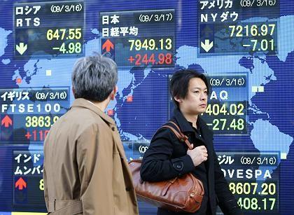 Kursgewinne in asien: Börsen profitieren von Kursgewinnen in China