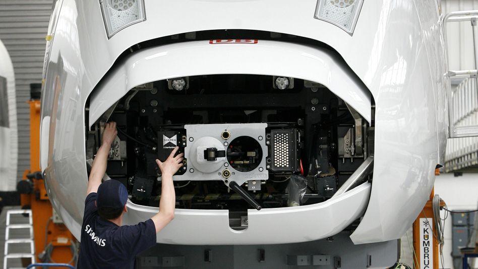 Zugmontage bei Siemens: 1,5 Milliarden Euro-Auftrag in Riad