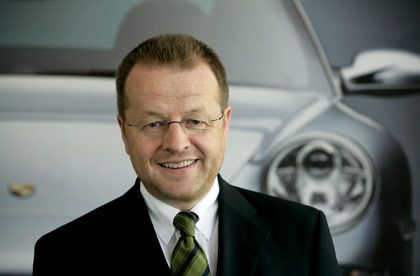 Porsche-Finanzchef Härter: Finanzkrise durchkreuzte Strategie