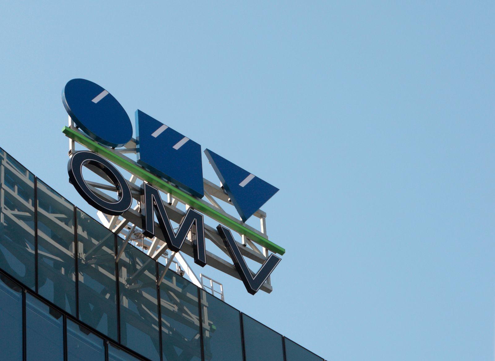 Logo OMV / Öl und Gas / Australien