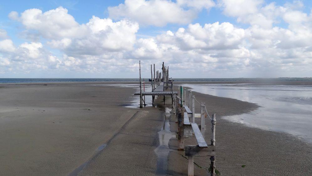 Watteninsel Vlieland: Überall Sand