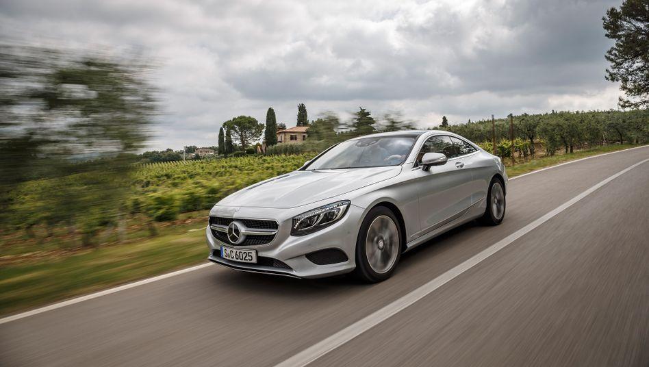 Im Allgemeinen steuerintensiv: Mercedes-Benz S500 Coupe