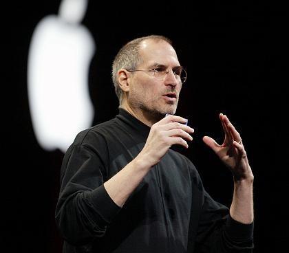 Der Kopf: Apple-Chef Steve Jobs überrascht die Märkte nicht nur mit stilvollen Rechnern